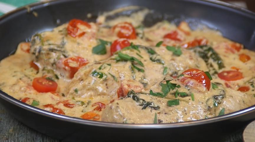 italian cream cheese chicken recipe