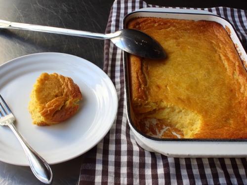 lite corn pudding recipe