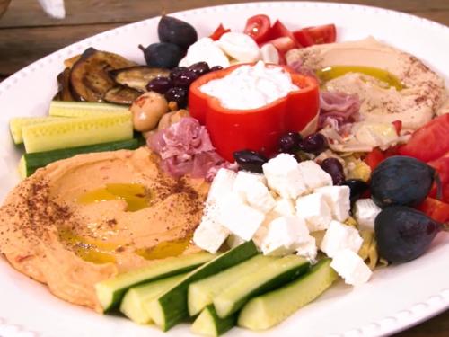 mediterranean mezze platter recipe
