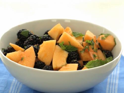 melon fruit salad recipe