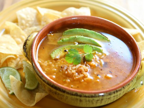 mexican chicken and rice soup recipe