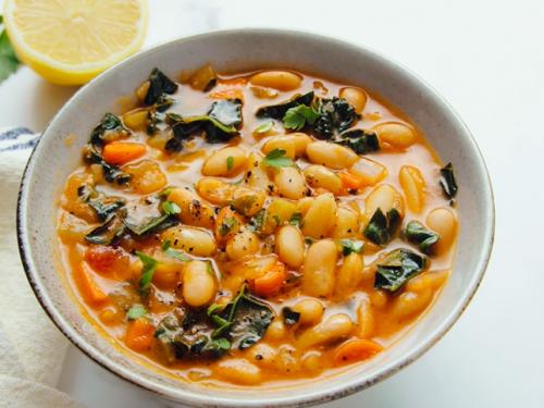 pasta fagioli (pasta and beans) recipe
