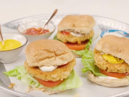 pesto white bean veggie burger recipe