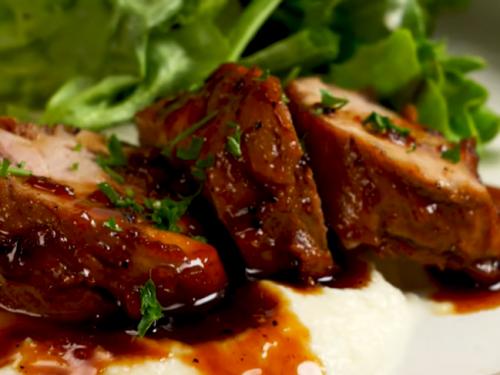 pork tenderloin with figs recipe