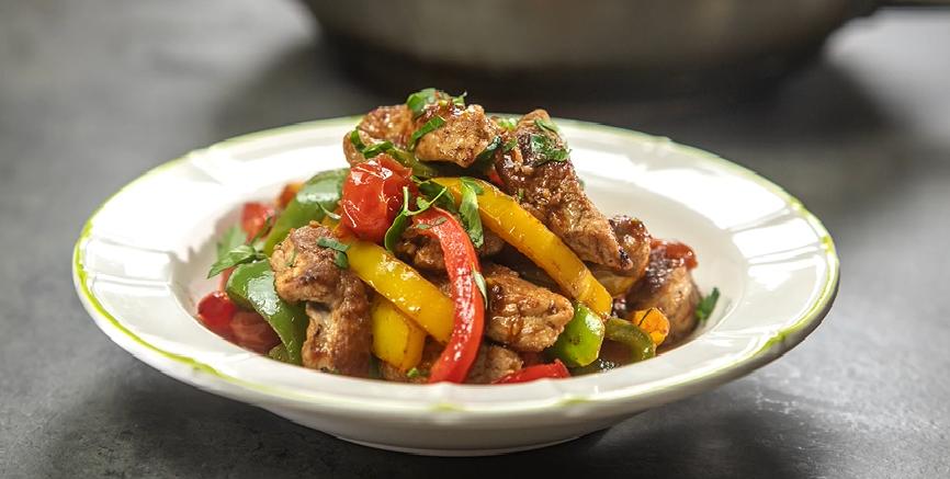 portuguese red pepper pork recipe
