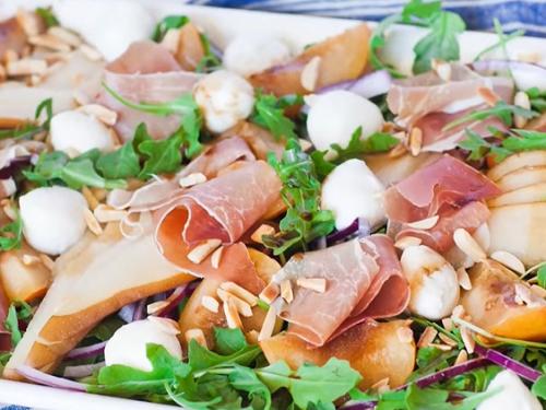 prosciutto arugula fig salad recipe