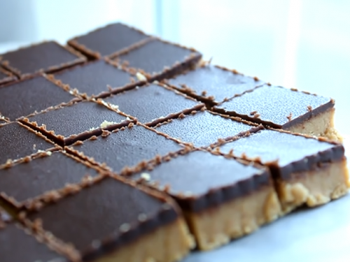 reese's pieces peanut butter bars recipe