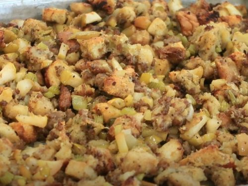 Sausage and Apple Stuffing Recipe