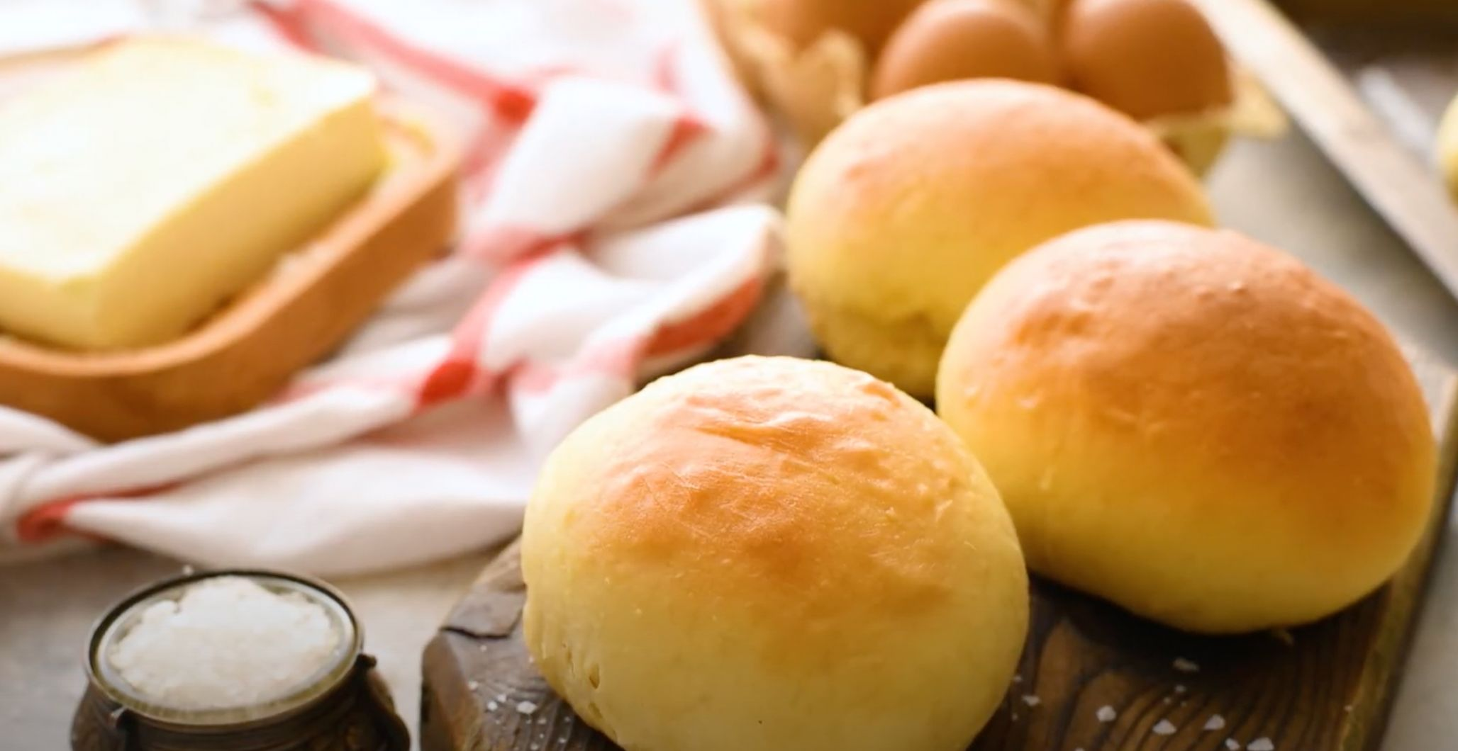 Soft and Buttery Rolls Recipe