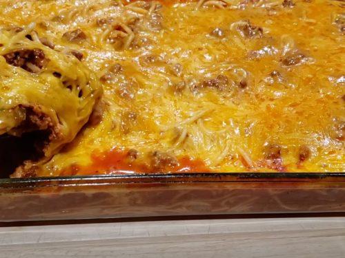 Spaghetti Lasagna Recipe