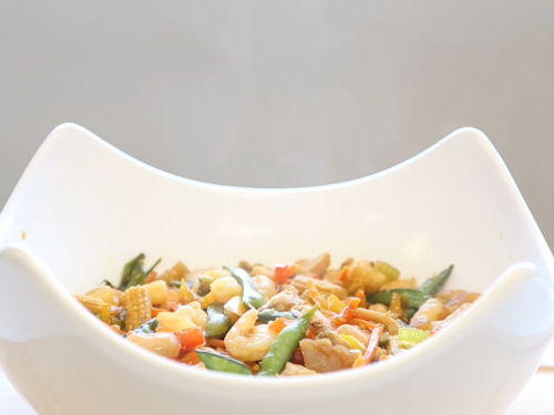 stir fry shrimp and chicken recipe