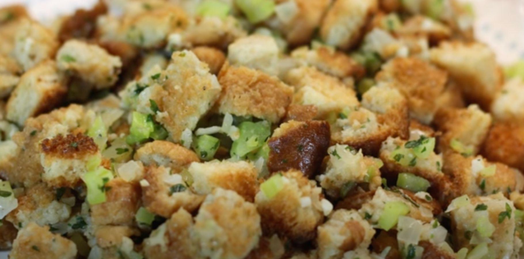 Stovetop Moist and Savory Stuffing Recipe
