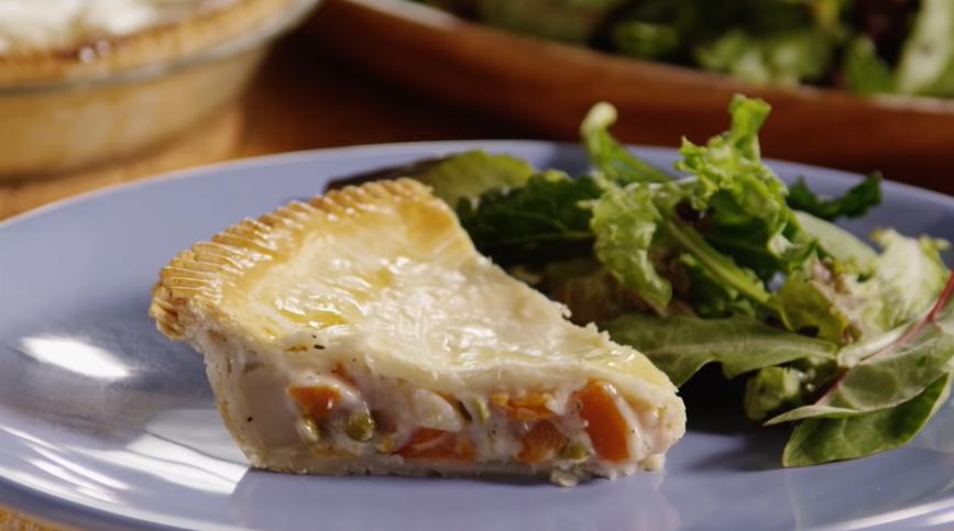 vegetable pot pie recipe