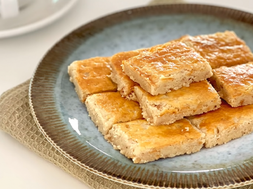 walnut shortbread recipe