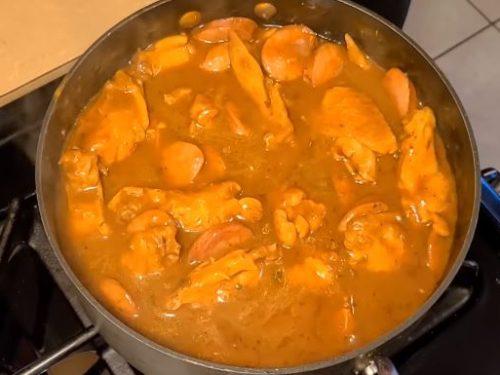 chicken and andouille sausage stew recipe