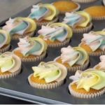 ombre vanilla cupcakes with whipped vanilla buttercream recipe