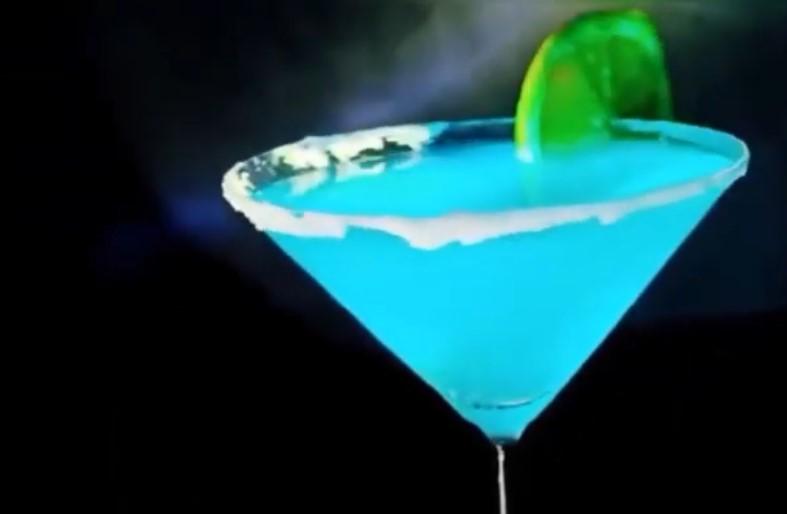 blue martini recipe