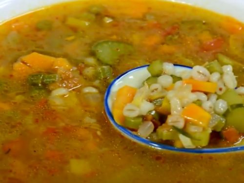 barley and vegetable soup recipe