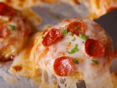cauliflower crust pizza bites recipe