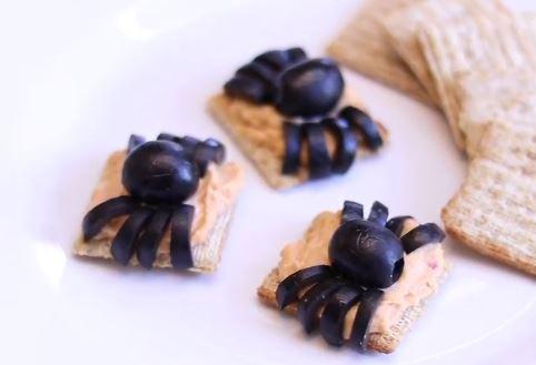 spooky spider snacks recipe