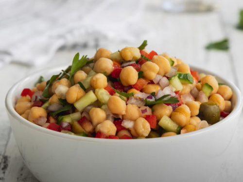 mediterranean-inspired chickpea salad recipe