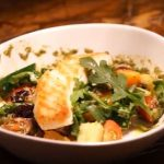 pan-seared halibut with quinoa recipe