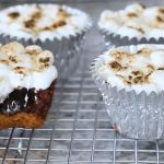 s'mores brownie cupcakes recipe
