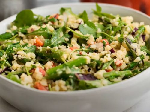 spring asparagus salad recipe