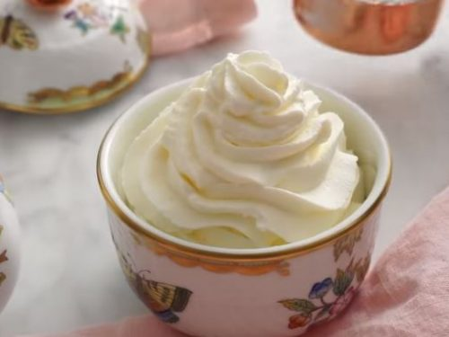 whipped cream icing recipe