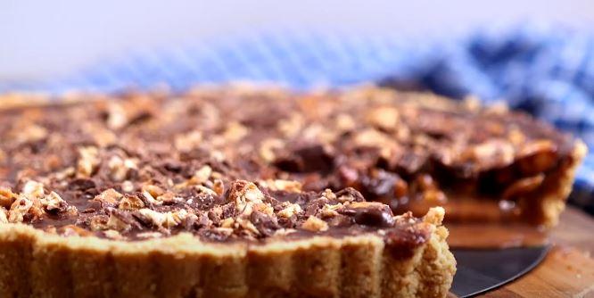 no bake snickers bar pie recipe