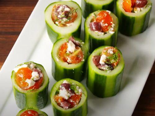 veggie cups recipe