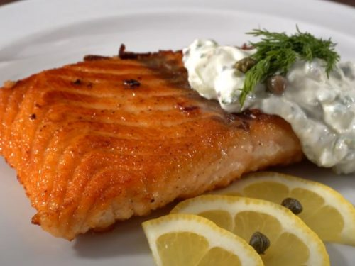 sous vide teriyaki salmon recipe