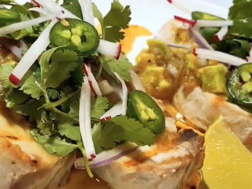 brown butter lime mahi mahi with avocado salsa recipe
