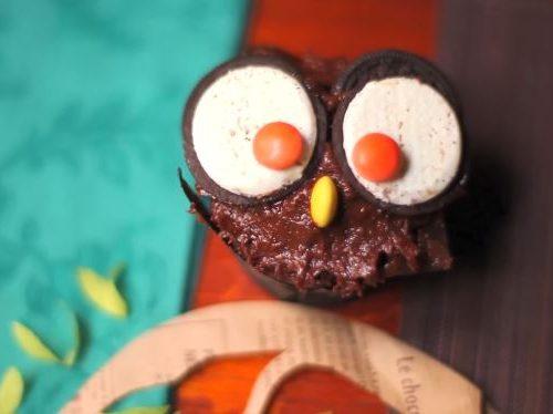 halloween owl cupcakes recipe