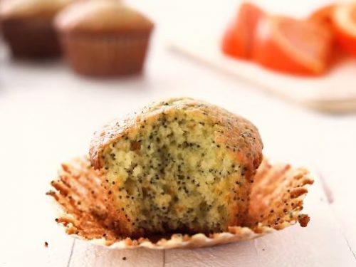 orange lemon poppy seed muffins recipe