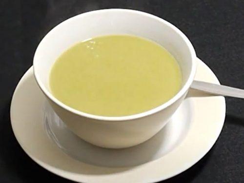 cream of asparagus leek soup recipe