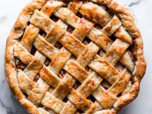 cherry lattice pie recipe