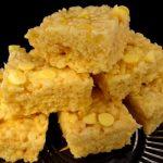 lemon rice krispie treats recipe