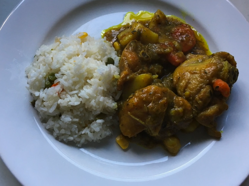 chicken curry with sweet potato recipe