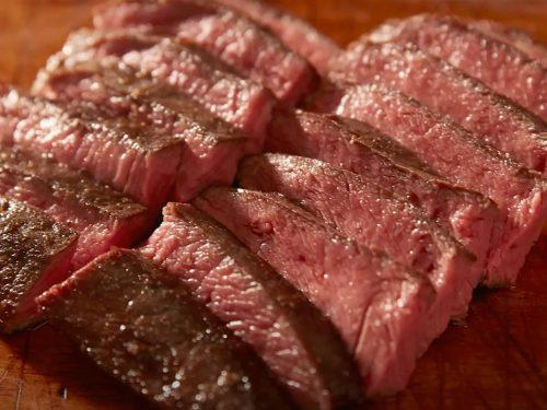 Chipotle-Marinated Flat Iron Steak with Avocado-Corn Relish Recipe