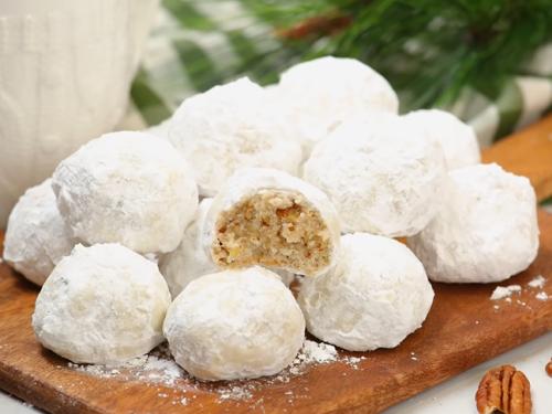 christmas snowball cookies recipe