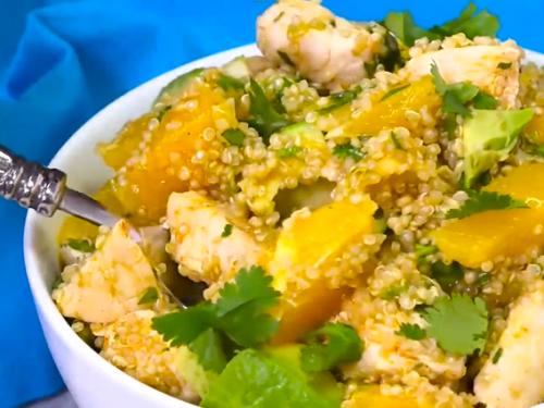 citrus chicken quinoa salad recipe
