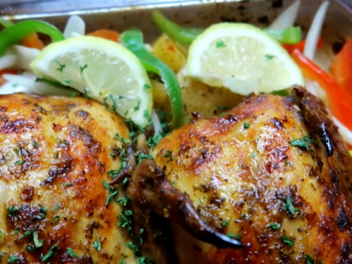 cornish hens with scallion butter and lime recipe