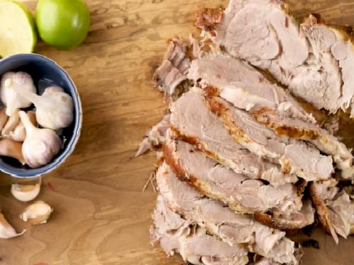 cuban-style roast pork recipe