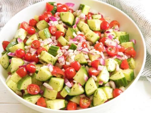 cucumber feta salad recipe