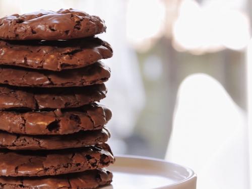 flourless chocolate chewy cookies recipe