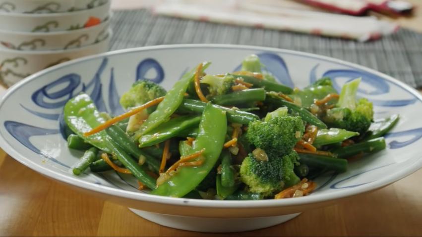 ginger vegetable stir fry recipe
