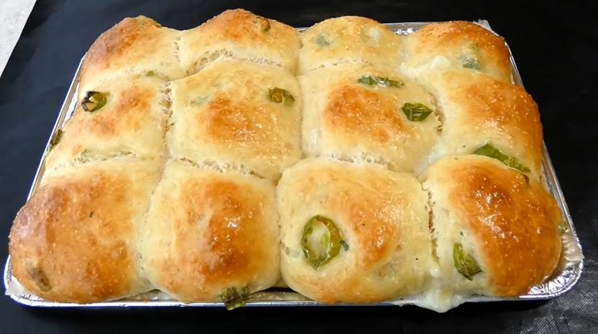 gluten-free green chile cheese bread recipe