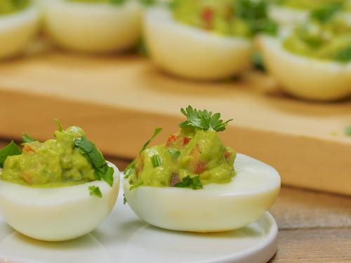 guacamole deviled eggs recipe