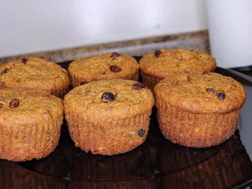 low fat papaya coconut muffins recipe